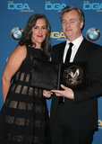 Christopher Nolan Photo - 03 February 2018 - Beverly Hills California - Emma Thomas Christopher Nolan 70th Annual Directors Guild Of America Awards held at the Beverly Hilton Photo Credit F SadouAdMedia