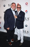 Emilio Estefan Photo - 22 August 2014 - Las Vegas Nevada - Jose Andres Emilio Estefan SLS Las Vegas celebrates its Grand Opening with a celebrity studded red carpet  Photo Credit MJTAdMedia