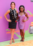 Aly Raisman Photo - 13 July 2017 - Los Angeles California - Aly Raisman Simone Biles Nickelodeon Kids Choice Sports Awards 2017 held at the Pauley Pavilion in Los Angeles Photo Credit Birdie ThompsonAdMedia