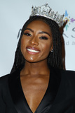 Nia Franklin Photo - 19 December 2019 - Uncasville CT - Miss America 2019 Nia Franklin Miss America 2020 Competition Red Carpet Arrivals at Mohegan Sun Casino Resort Photo Credit MJTAdMedia