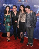 Ali Hewson Photo - 14 June 2011 - New York City NY - Ali Hewson Bono of U2 Morleigh Steinberg and The Edge of U2 Spider-Man Turn Off The Dark Broadway Opening Night held at Foxwoods Theatre Photo Credit Christopher SmithAdMedia