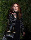 Debra Messing Photo - Debra Messing at the CHANEL Tribeca Film Festival Artists Dinner at Balthazar in Soho in New York New York USA 29 April 2019