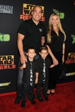 Amber Miller Photo - 27 September 2014 - Century City California - Tito Ortiz Amber Miller Star Wars Rebels Spark of Rebellion Los Angeles Special Screening held at the AMC Century City 15 Photo Credit Byron PurvisAdMedia