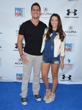 Andi Dorfman Photo - 09 September 2014 - Los Angeles California - Josh Murray Andi Dorfman Arrivals for Clayton Kershaws 2nd Annual Ping Pong 4 Purpose Charity Event benefiting Kershaws Challenge held at  Dodger Stadium in Los Angeles Ca Photo Credit Birdie ThompsonAdMedia