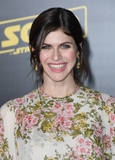 Alexandra Daddario Photo - 10 May 2018 - Hollywood California - Alexandra Daddario Solo A Star Wars Story Los Angeles Premiere held at Dolby Theater Photo Credit Birdie ThompsonAdMedia
