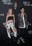 Alabama Photo - 29 September 2017 - Buena Park California - Alabama Luella Barker Travis Barker and Landon Asher Barker 2017 Knotts Scary Farm Celebrity Night held at Knotts Berry Farm Photo Credit F SadouAdMedia
