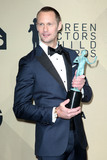 Alexander Skarsgard Photo - 21 January 2018 - Los Angeles California - Alexander Skarsgard 24th Annual Screen Actors Guild Awards held at The Shrine Auditorium Photo Credit RetnaAdMedia