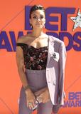 Annie Ilonzeh Photo - 24 June 2018 - Los Angeles California - Annie Ilonzeh 2018 BET Awards held at the Microsoft Theater Photo Credit F SadouAdMedia