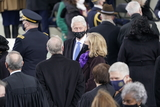 President Bill Clinton Photo - Former United States President Bill Clinton and former US Secretary of State Hillary Rodham Clinton prior to Joe Biden taking the Oath of Office as the 46th President of the US at the US Capitol in Washington DC on Wednesday January 20 2021  Credit Chris Kleponis  CNPAdMedia