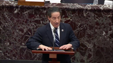 The Used Photo - In this image from United States Senate television US Representative Jamie Raskin (Democrat of Maryland) Lead Manager on the Part of the US House makes his case against calling witnesses during Day 5 of the second impeachment trial of the former president in the US Senate in the US Capitol in Washington DC on Saturday February 13 2021Mandatory Credit US Senate TV via CNPAdMedia