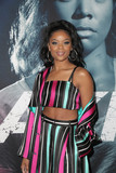 Ajiona Alexus Photo - 01 May 2018 - Hollywood California - Ajiona Alexus Premiere Of Universal Pictures Breaking In held at ArcLight Hollywood Photo Credit PMAAdMedia