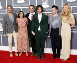Alex Ebert Photo - 10 February 2013 - Los Angeles California - Orpheo McCord Jade Castrinos Alex Ebert and Nora Kirkpatrick of Edward Sharpe and The Magnetic Zeros The 55th Annual GRAMMY Awards held at STAPLES Center Photo Credit AdMedia