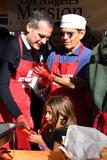 Antonio Villaraigosa Photo - 21 November 2018 - Los Angeles California - Eric Garcetti Antonio Villaraigosa 2018 LA Mission Thanksgiving held at LA Mission Photo Credit Birdie ThompsonAdMedia