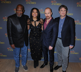 Taraji P Henson Photo - 17 March 2019 - New York New York - Bill Riddick Taraji P Henson Sam Rockwell and Robin Bisell at The Best of Enemies New York Photo Call presented by STX Films at the Whitby Hotel in Midtown Photo Credit LJ FotosAdMedia