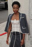Danai Gurira Photo - 23 October 2016 - Hollywood California Danai Gurira AMC Presents Live 90-Minute Special Edition Of Talking Dead held at Hollywood Forever Cemetery  Photo Credit Birdie ThompsonAdMedia