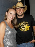 Rhett Akins Photo - August 16 2011 - Athens GA - Melissa Christian wife of slain officer and Jason Aldean Country artist Colt Ford rounded up his songwriter and artist friends to hold a benefit for the family of Elmer Buddy Christian an Athens Police Officer who died in the line of duty  On hand were Jason Aldean Edwin McCain Rhett Akins Dallas Davidson James Otto Rachel Farley Corey Smith Brantley Gilbert and Mike Dekel The performance was held for a packed house at the reconstructed and recently reopened Georgia Theater Photo credit Dan HarrAdMedia