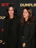 Amanda Anka Photo - 6 December 2018 - Hollywood California - Courteney Cox Amanda Anka The world premier of Dumplin  held at The TCL Chinese 6 Theaters Photo Credit Faye SadouAdMedia