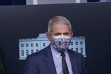 Anthony Fauci Photo - Dr Anthony Fauci Director of the National Institute of Allergy and Infectious Diseases at the National Institutes of Health  participates in a briefing with members of the White House Coronavirus Task Force at the White House in Washington DC November 19 2020 Credit Chris Kleponis  Pool via CNPAdMedia