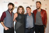 Nicholas Sparks Photo - 09 October 2014 - Nashville Tennessee - Charles Kelley Dave Haywood Hillary Scott Lady Antebellum Nicholas Sparks The Best of Me Nashville VIP Screening held at the Country Music Hall of Fame CMA Theater Photo Credit Dara-Michelle FarrAdMedia