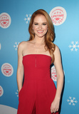 Sarah Drew Photo - 14 November 2018-  Los Angeles California - Sarah Drew The Stars Of Lifetimes Christmas Movies Celebrate The Opening Night Of Life-Sized Gingerbread House Experience held at The Grove Photo Credit Faye SadouAdMedia