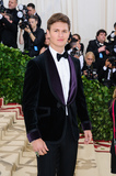 Ansel Elgort Photo - 07 May 2018 - New York New York - Ansel Elgort 2018 Metropolitan Museum of Art Costume Institute Gala Heavenly Bodies Fashion and the Catholic Imagination Photo Credit Christopher SmithAdMedia