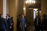 The Unit Photo - Amy Coney Barrett nominee for Associate Justice of the Supreme Court of the United States arrives at the US Capitol for a day of meetings with senators in Washington DC Tuesday September 29 2020Credit Rod Lamkey  Consolidated News PhotosAdMedia
