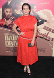 Alanna Masterson Photo - 14 June 2017 - Los Angeles California - Alanna Masterson Los Angeles Premiere of Baby Driver held at the Ace Hotel Downtown in Los Angeles Photo Credit Birdie ThompsonAdMedia