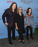 Al Yankovic Photo - 16 September 2019 - Hollywood California - Weird Al Yankovic Suzanne Yankovic Nina Yankovic Netflixs Between Two Ferns The Movie Los Angeles Premiere held at ArcLight Hollywood Photo Credit Billy BennightAdMedia