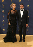 Antonio Banderas Photo - 17 September 2018 - Los Angles California - Antonio Banderas Nicole Kimpel 70th Primetime Emmy Awards held at Microsoft Theater LA LIVE Photo Credit Faye SadouAdMedia