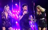 Ashley Monroe Photo - 08 June 2019 - Nashville Tennessee - Miranda Lambert Ashley Monroe Angaleena Presley Pistol Annies 2019 CMA Music Fest Nightly Concert held at Nissan Stadium Photo Credit Dara-Michelle FarrAdMedia