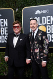 David Furnish Photo - 05 January 2020 - Beverly Hills California - Nominee Elton John and David Furnish 77th Annual Golden Globe Awards held at the Beverly Hilton Photo Credit HFPAAdMedia