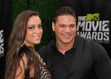 Sammi Giancola Photo - 14 April 2013 - Culver City California - Sammi Giancola Ronnie Ortiz-Magro 2013 MTV Movie Awards - Arrivals held at Sony Pictures Studios Photo Credit Byron PurvisAdMedia