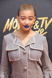 Amandla Stenberg Photo - 07 May 2017 - Los Angeles California - Amandla Stenberg 2017 MTV Movie Awards  held at Shrine Auditorium in Los Angeles Photo Credit Birdie ThompsonAdMedia