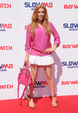 Angelica Bridges Photo - 22 April 2017 - Los Angeles California - Angelica Bridges Baywatch Slow Motion Marathon held at Microsoft Square at LA Live in Los Angeles Photo Credit Birdie ThompsonAdMedia