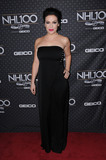 Alyssa Milano Photo - 27 January 2017 - Los Angeles California - Alyssa Milano The NHL 100 Gala held at TheMicrosoft Theater Photo Credit Birdie ThompsonAdMedia