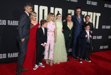Archie Yates Photo - 15 October 2019 - Los Angeles California - Chelsea Winstanley Carthew Neal Taika Waititi Rebel Wilson Roman Griffin Davis Scarlett Johansson Thomasin McKenzie Sam Rockwell Stephen Merchant Archie Yates Alfie Allen Premiere Of Fox Searchlights Jojo Rabbit held at Post 43 Photo Credit FayeSAdMedia