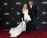 Gwen Stefani Photo - 10 November 2019 - Santa Monica California - Gwen Stefani Blake Shelton 2019 Peoples Choice Awards held at Barker Hangar Photo Credit Birdie ThompsonAdMedia