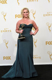 Amy Schumer Photo - 20 September 2015 - Los Angeles California -  Amy Schumer 67th Annual Primetime Emmy Awards Press Room held at Microsoft Theater Photo Credit Theresa BoucheAdMedia