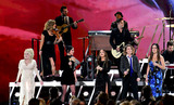 Dolly Parton Photo - 13 November 2019 - Nashville Tennessee - Dolly Parton Amanda Shires Maren Morris Brandi Carlile Natalie Hemby 51st Annual CMA Awards Country Musics Biggest Night held at Bridgestone Arena Photo Credit Laura FarrAdMedia