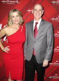 Alison Sweeney Photo - 04 December 2017 - Los Angeles California - Alison Sweeney Bill Abbott Hallmark Channel Screening of Christmas at Holly Lodge held at The Grove Photo Credit F SadouAdMedia
