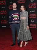 Colbie Smulders Photo - 09 December  2017 - Los Angeles California - Taran Killam Colbie Smulders Premiere Of Disney Pictures And Lucasfilms Star Wars The Last Jedi held at The Shrine Auditorium  in Los Angeles Photo Credit Birdie ThompsonAdMedia
