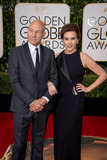 Patrick Stewart Photo - Patrick Stewart Golden Globe nominee for BEST PERFORMANCE BY AN ACTOR IN A TELEVISION SERIES  COMEDY OR MUSICAL for his role in Blunt Talk and Sunny Ozell arrive at the 73rd Annual Golden Globe Awards at the Beverly Hilton in Beverly Hills CA on Sunday January 10 2016 Photo Credit HFPAAdMedia