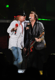 Axl Rose Photo - 24 January 2010 - Hamilton Ontario Canada  Axl Rose and Tommy Stinson of Guns N Roses perform on stage at Copps Coliseum in support of Chinese Democracy  Photo Credit Brent PerniacAdMedia