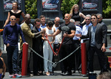 Ron Meyer Photo - 23 June 2015 - Universal City California - Tyrese Gibson Larry Kurzweil Michelle Rodriguez Jason Statham Vin Diesel Ron Meyer Fast  Furious - Supercharged Thrill Ride Launch Event held at Universal Studios Photo Credit Byron PurvisAdMedia