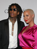 Amber Rose Photo - 11 February 2016 -  Beverly Hills California - Wiz Khalifa Amber Rose Pre-GRAMMY Gala and Salute to Industry Icons Honoring Debra Lee held at The Beverly Hilton Hotel Photo Credit Faye SadouAdMedia