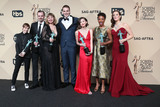 Alan Aisenberg Photo - 29 January 2017 - Los Angeles California - Abigail Savage James McMenamin Emily Althaus Alan Aisenberg Kimiko Glenn Samira Wiley and Julie Lake co-recipients of the Outstanding Performance by an Ensemble in a Comedy Series award for Orange Is the New Black 23rd Annual Screen Actors Guild Awards held at The Shrine Expo Hall Photo Credit F SadouAdMedia