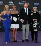 Hayley Roberts Photo - 19 April 2017 - Hollywood California - David Hasselhoff Hayley Roberts Premiere Of Disney And Marvels Guardians Of The Galaxy Vol 2 held at Dolby Theatre Photo Credit PMAAdMedia