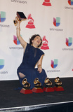 Natalia Lafourcade Photo - 19 November 2015 - Las Vegas Nevada -  Natalia Lafourcade  2015 Latin Grammy Awards Press Room at the MGM Grand Garden Arena Photo Credit MJTAdMedia
