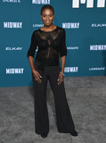 Adina Porter Photo - 05 November 2019 - Westwood California - Adina Porter Midway Los Angeles Premiere held at Regency Village Theater Photo Credit Birdie ThompsonAdMedia