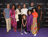 Front Row Photo - 14 September 2019 - Beverly Hills California - front row) Mykal-Michelle Harris Ethan William Childress Arica Himmel (L-R) back row) Gary Cole Christina Anthony Tika Sumpter Mark-Paul Gosselaar Peter Saji Karin GistMixed-ish - 2019 PaleyFest Fall TV Preview held at The Paley Center for Media - ABC Photo Credit Billy BennightAdMedia